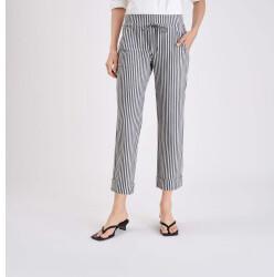 MAC Mode MAC Mac Jeans - Easy Culotte , Premium Techno Stretch (3084-00-0169-037S) grau