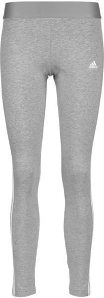 Adidas LOUNGEWEAR Essentials 3-Stripes Leggings medium grey heather/white