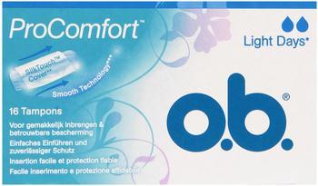 o.b. ProComfort leichte Tage (16 Stk.)