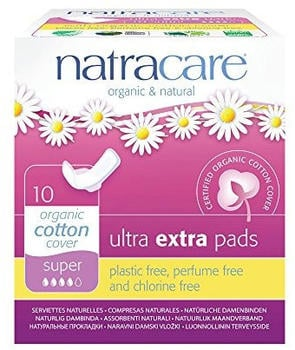 Natracare Ultra Extra pads Super (x10)