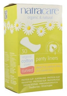Natracare Panty Liners Curved (x30)