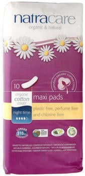Natracare Maxi Pads night time (x10)