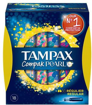 Tampax Pearl Compak Regular (x18)
