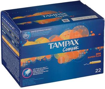 Tampax Compak Super Plus (x22)