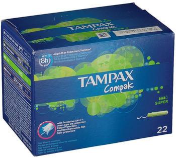 Tampax Compak Super (x22)