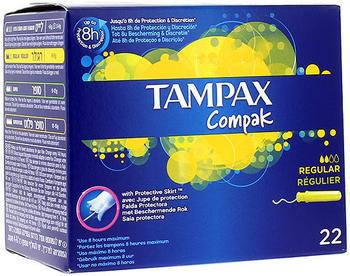 Tampax Compak Regular (x22)