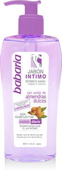 Babaria Intimate hygiene soap with almond oil (300 ml)