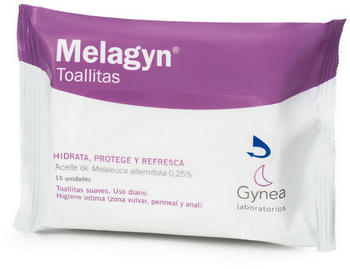 Gynea Melagynin wipes (x15)