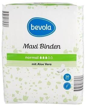 Bevola Maxi Binden normal mit Aloe Vera