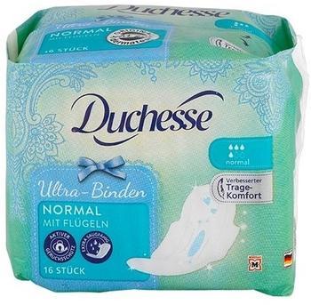 Duchesse Ultra-Binden normal mit Flügeln