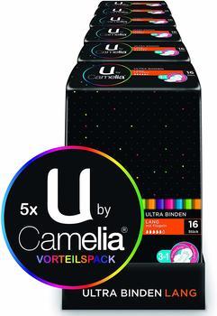 U-by Camelia Ultra Binden normal mit Flügeln
