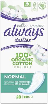 Always Cotton Protection Dailies Slipeinlagen normal