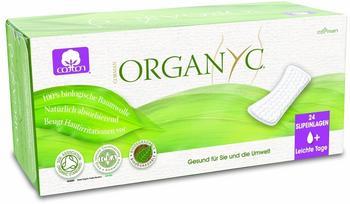 Organyc 24 Slipeinlagen leichte Tage