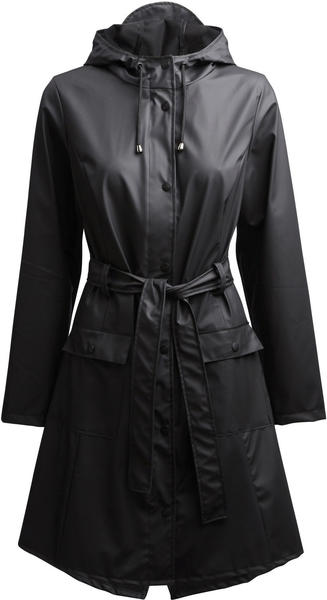 Rains Curve Jacket black (1206-01)