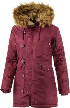 Alpha Industries N3B VF 59 Wmn burgundy
