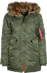 Alpha Industries N3B VF 59 Wmn sage-green