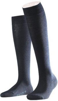 Falke Wollkniestrümpfe Softmerino blau (47438-6379)