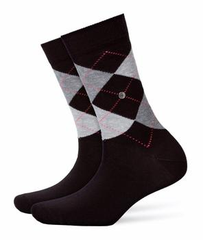 Burlington Uniforms Damen Strick Socken Queen schwarz (22040-3000)
