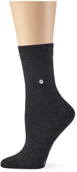 Burlington Damen Strick Socken Lady grau/anthrazit (22041-3081)