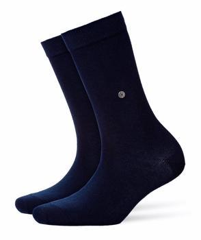 Burlington Uniforms Damen Strick Socken Lady marine blau (22041-6120)