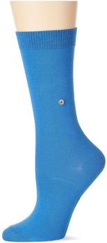 Burlington Uniforms Damen Strick Socken Lady blau/cornflower blue (22041-6337)
