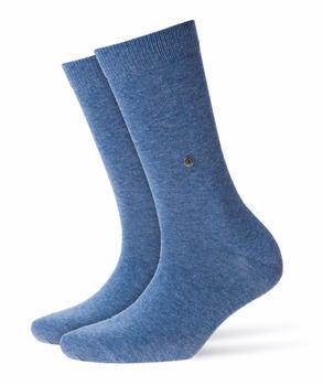 Burlington Uniforms Damen Strick Socken Lady blau/light jeans (22041-6662)