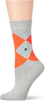 Burlington Uniforms Damen Socken Neon Queen grau (22070-3820)