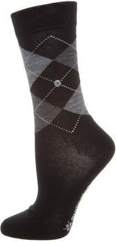 Burlington Uniforms Damen Socken Marylebone schwarz (22082-3009)