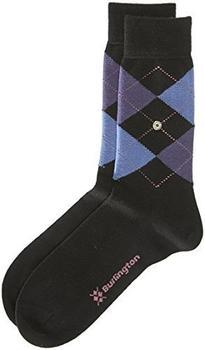 Burlington Uniforms Damen Socken Marylebone schwarz (22082-3018)