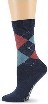 burlington-damen-socken-marylebone-blau-22082-6688