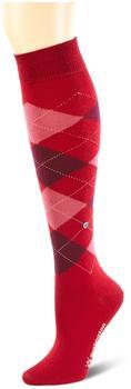 Burlington Uniforms Damen Kniestrümpfe Marylebone rot (22382-8033)