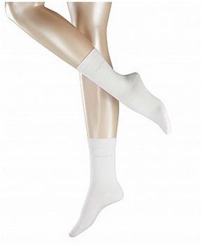 Esprit Damen Socken Doppelpack uni weiß (18531-2000)