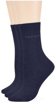 Esprit Damen Socken uni marine (19883-6120)