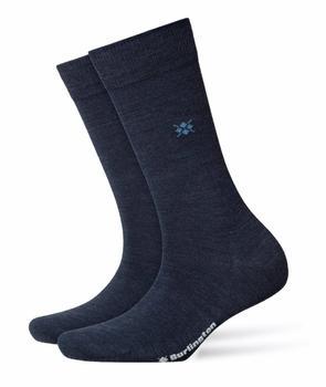 Burlington Uniforms Damen Socken Bloomsbury blau (22147-6688)