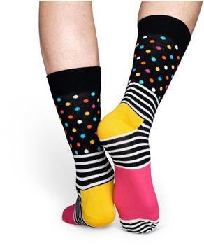 Happy Socks Stripes & Dots (SDO01-9000) pink/black