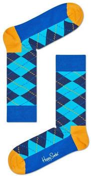 Happy Socks Argyle Sock (ARY01-6007) blue