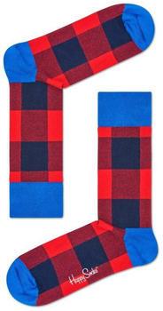 Happy Socks Lumberjack Sock (GIH01-4000) red/blue
