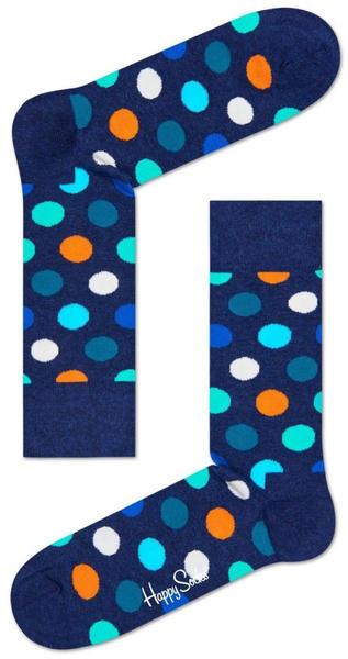 Happy Socks Big Dot Sock (BD01-605) blue/orange