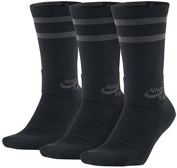 Nike SB Dry Crew 3 Paar black/anthracite (SX5760-010)