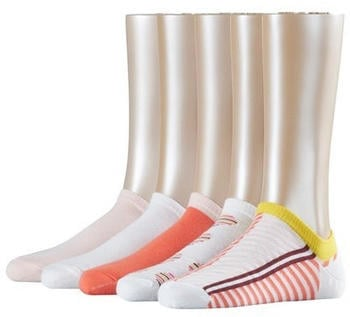 Esprit Sneakersocks Stripe Mix 5-Pack white (17679)