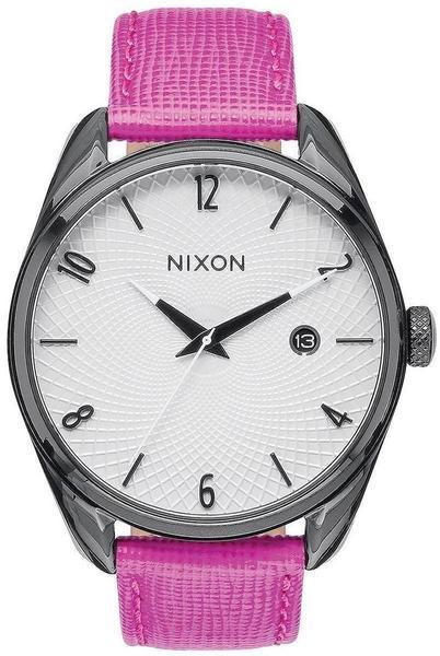 Nixon Bullet Leather black/hot pink (A473-2049)