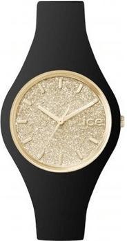 Ice Watch Ice Glitter S schwarz/gold (ICE.GT.BGD.S.S.15)