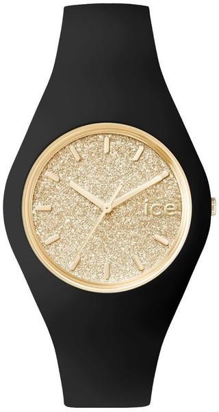 Ice Watch Ice Glitter M schwarz/gold (ICE.GT.BGD.U.S.15)