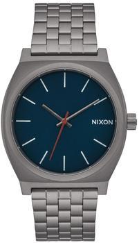 Nixon The Time Teller all gunmetal/ dark blue (A045-2340)