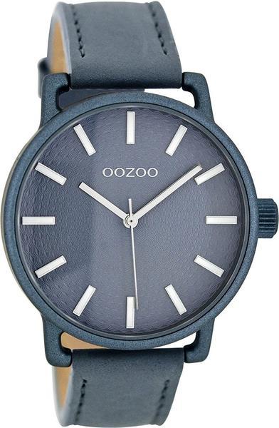 Oozoo C8313 Damenuhr Aquagrau 40 mm Lederband