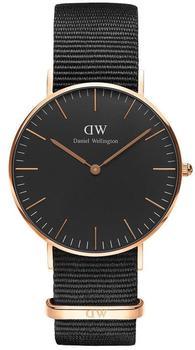Daniel Wellington Classic Black Cornwall Lady (DW00100150)