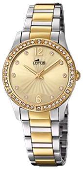 Lotus Grace 18384/1 Damenarmbanduhr mit Zirkonen