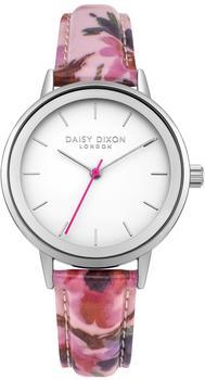 Daisy Dixon London DD049PS Damenuhr Jasmine Blumen-Print Rosa