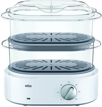 Braun FS 5100 Dampfgarer weiß