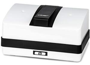 Cloer 800MBX Menübox Dampfgarer (550 Watt, Weiß/Schwarz)